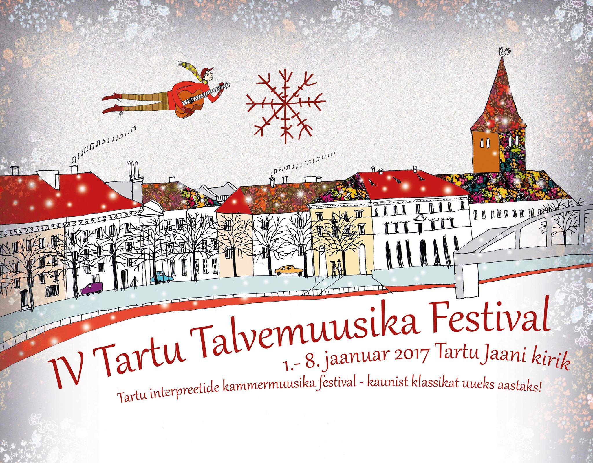 Tartu Winter Music Festival Marks the Beginning of 2017