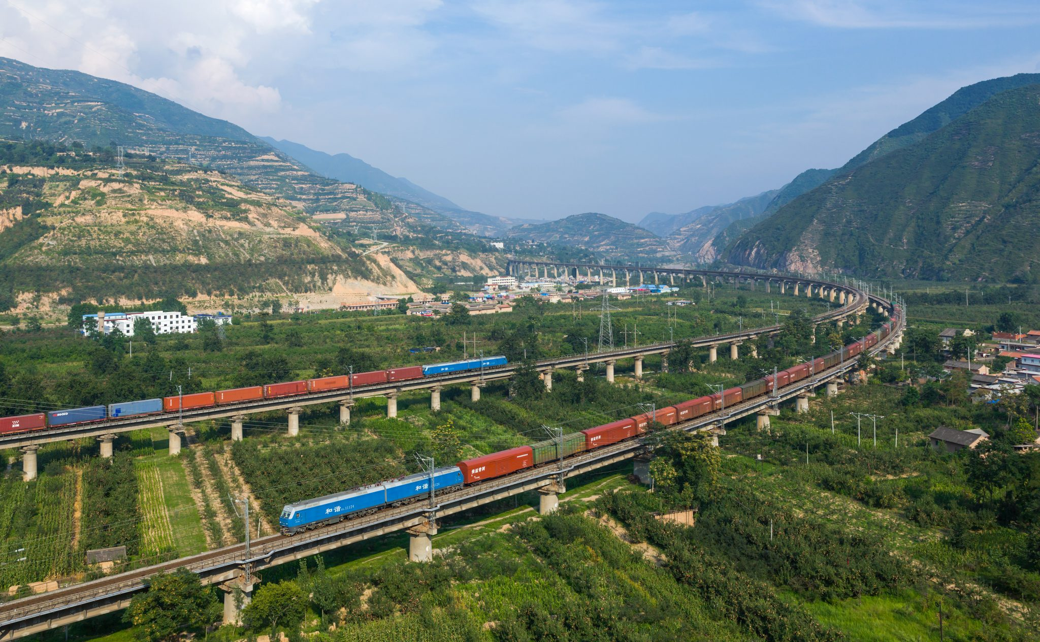 China Freight Train Resurrects Silk Road