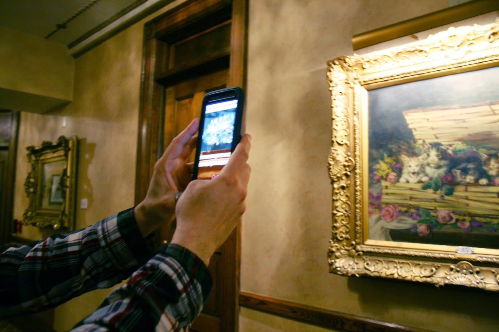 AR in paintings