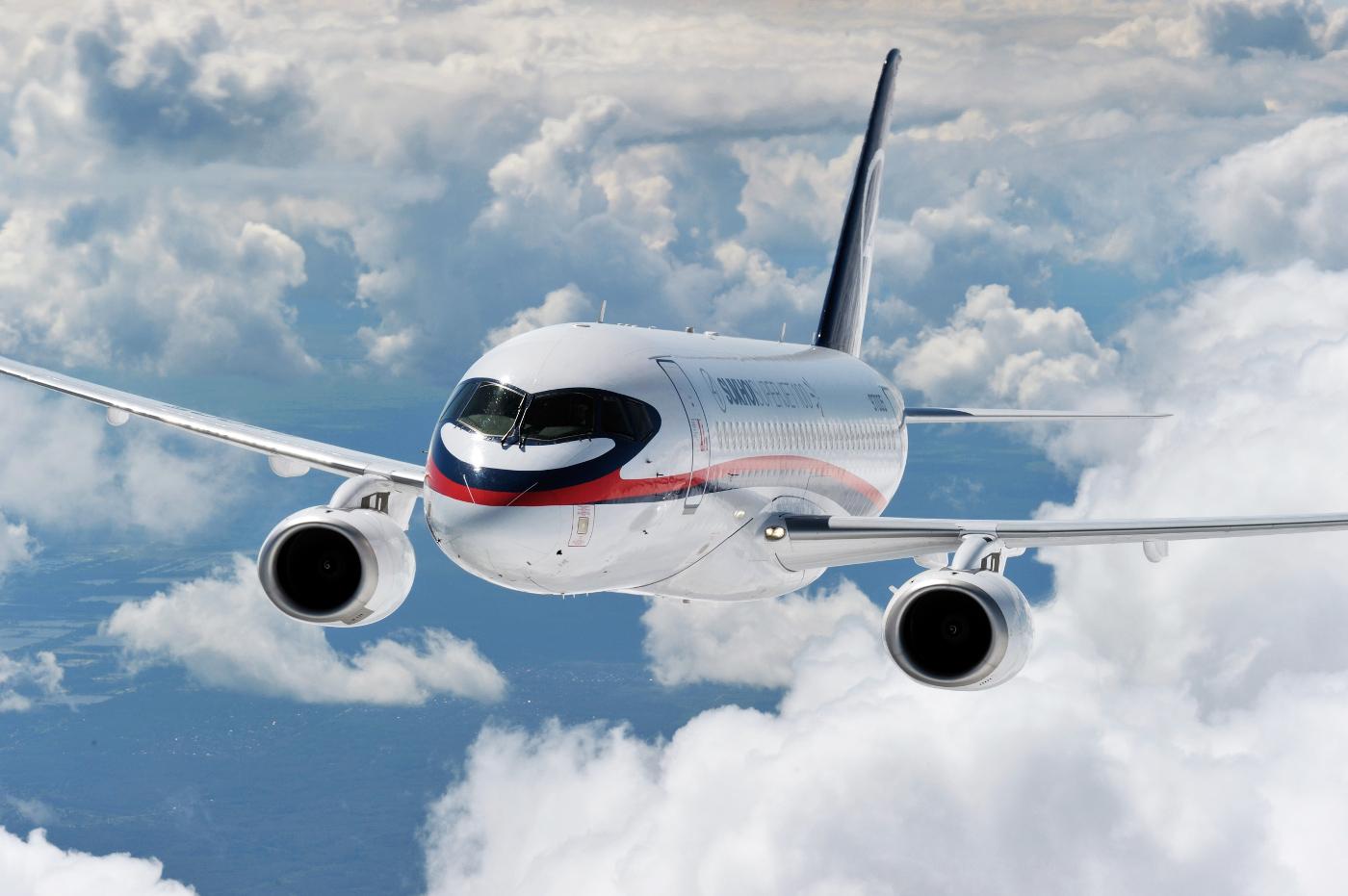 Italy's Leonardo Stays Aboard Russian Sukhoi Superjet 100