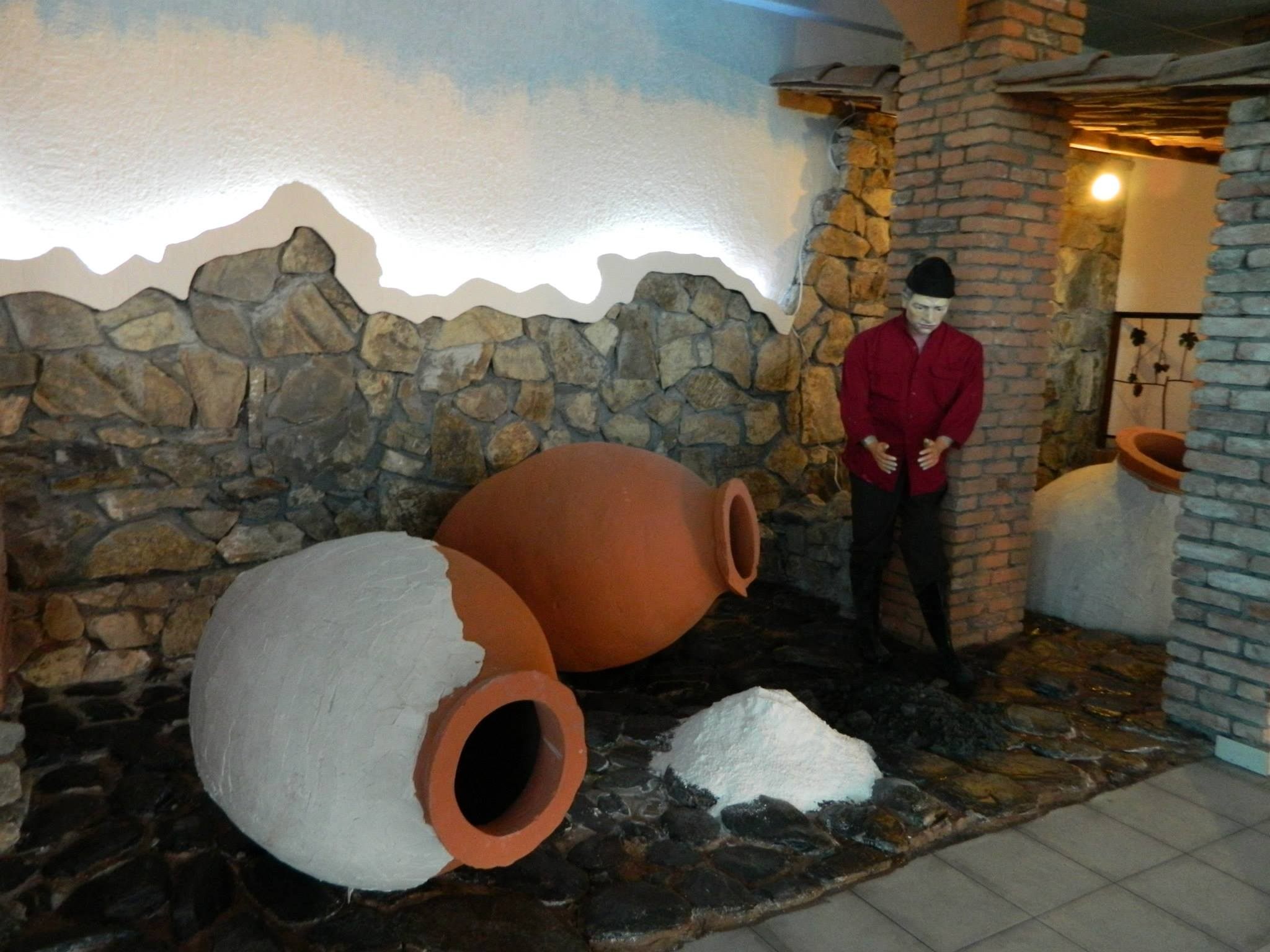 Qvevri and Qvevri wine museum