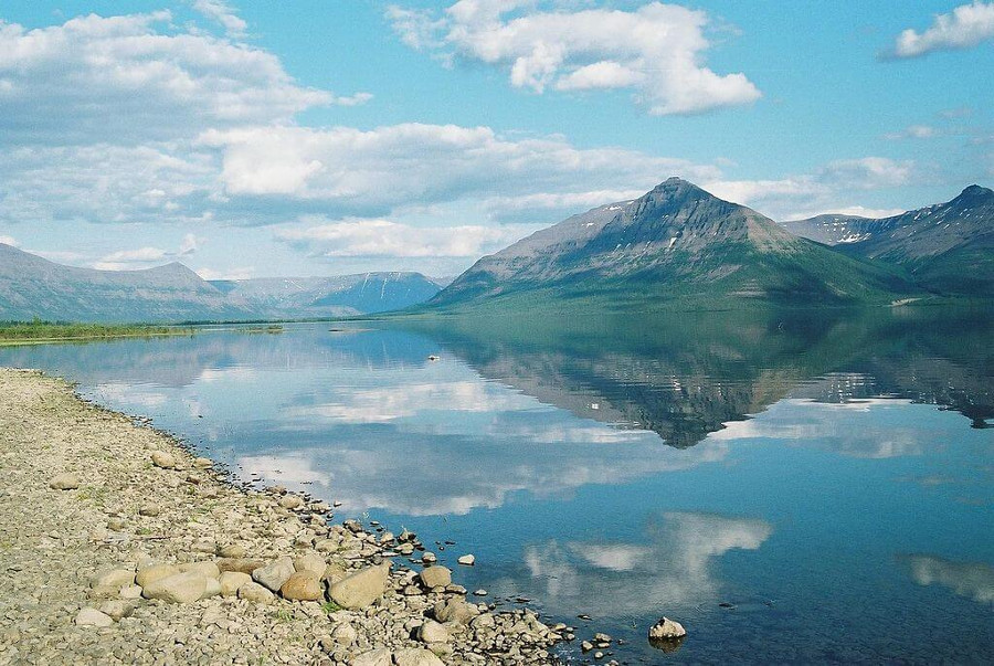 Lake Lama Siberia