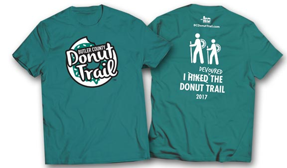 Butler County Donut Trail T-shirt