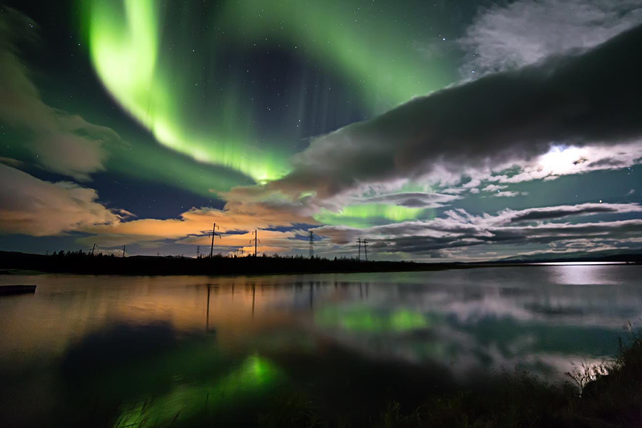 Places Under The Aurora Borealis Russia S Kola Peninsula