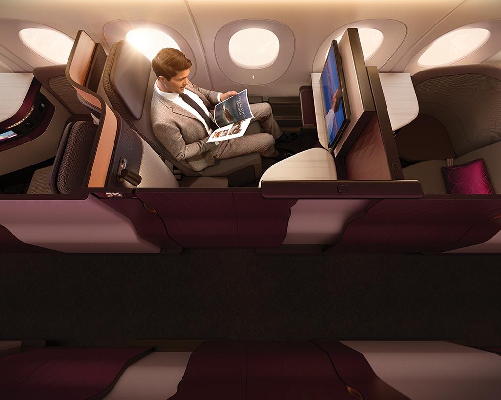 Qatar Airways new business qsuite