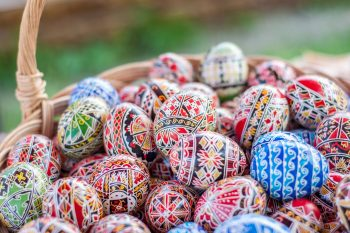 Romanian Easter Traditions: Easter Eggs