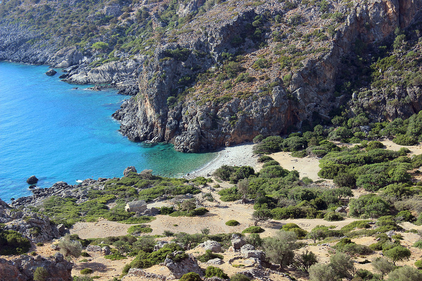 Lissos on Crete