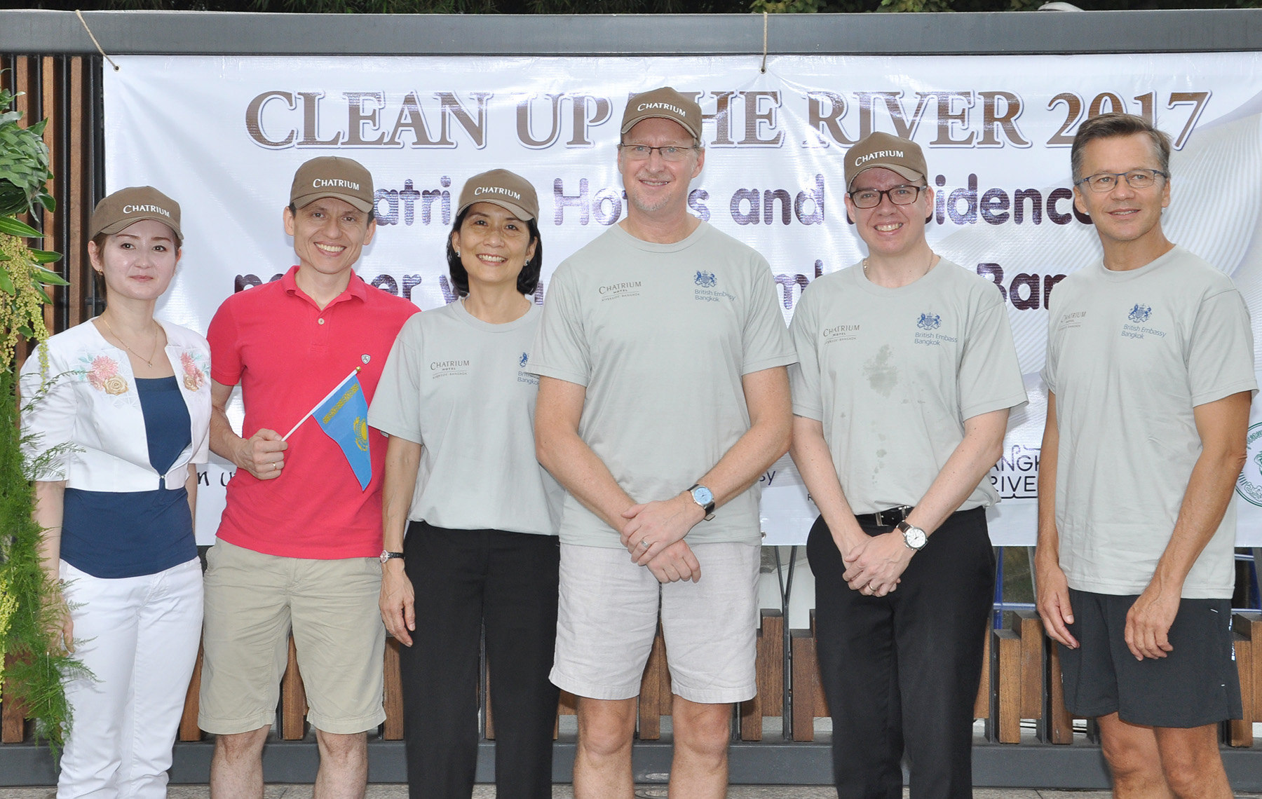 Clean Up the River 2017 at Chatrium Hotel Riverside Bangkok