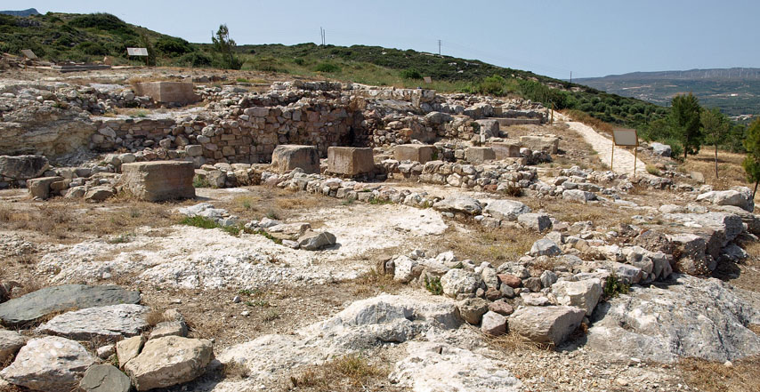 Minoan site of Petras