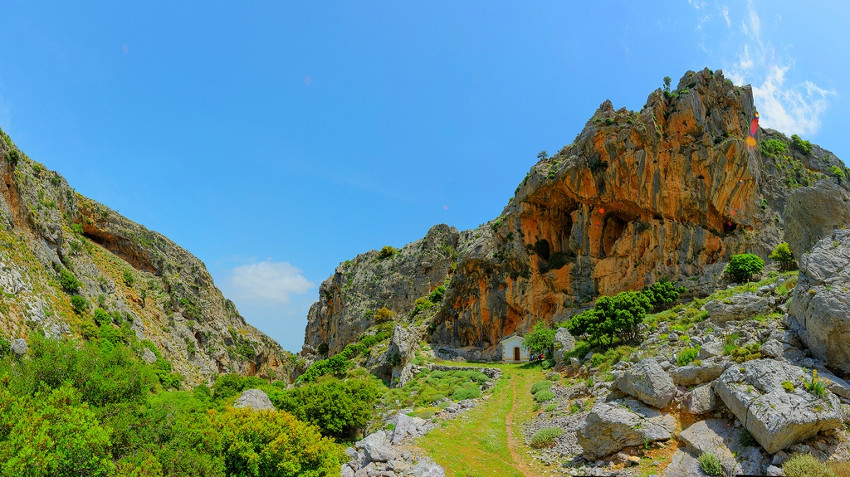 Canyon St. Haralambos - Courtesy Rural Heraklion