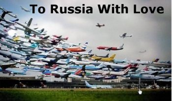 Russia departures from Heathrow