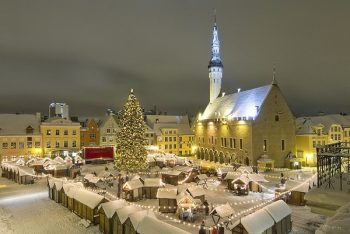 Tallinn Market Square at Christmas
