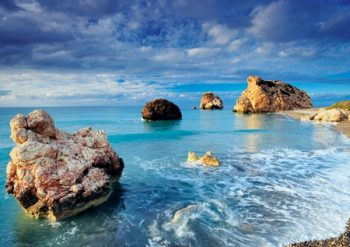 Petra tou Romiou, Birthplace of Aphrodite.
