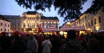 Christmas Market in Bratislava 2009