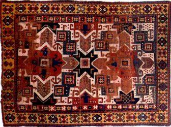 Kazak rug from Azerbaijan
