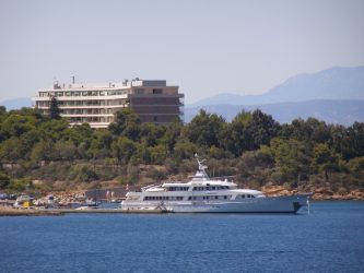 The Bay of Vouliagmeni