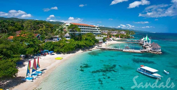 Sandals Grand Ocho Rios Beach And Villa Golf Resort Caribbean Riviera Jamaica
