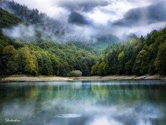 Biogradsko lake. Biogradska gora National park. Montenegro