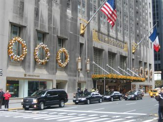 The Waldorf Astoria Goes Glitzy