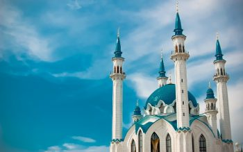 The world famous Qol Sharif Monsque in Russia