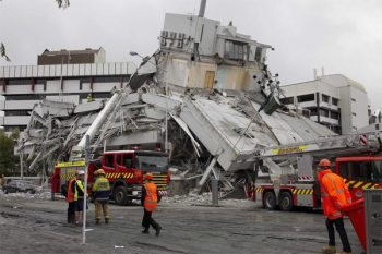 Christchurch, after the quake