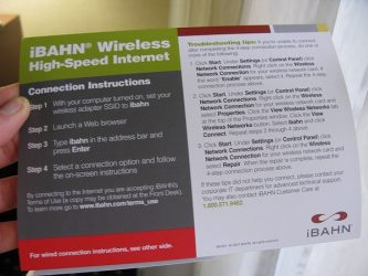iBAHN wireless in hotels
