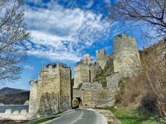 Golubac fortress, Eastern Serbia.