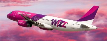 Wizz Air aircraft.