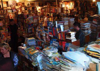 Yerevan bookstore.