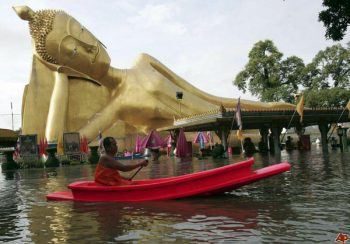 Southern Thailand has been hit hard by torrential rains and flooding