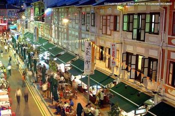 Singapore Chinatown, one of the islands' leading tourist attractions