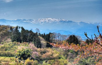Fukushima mountains