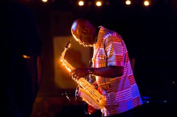 Manu Dibango at the Nisville Jazz Festival