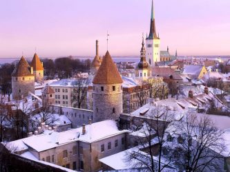 A record number of UK visitors journey to Tallinn, Estonian this year