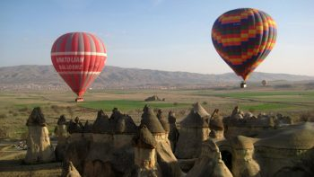 The breathtaking landscape of Cappadocia