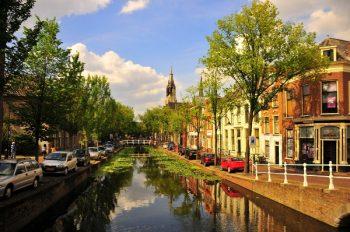 Durch die Kanäle von Delft