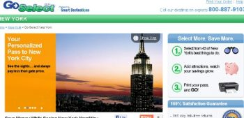 Smart Destinations Go Select
