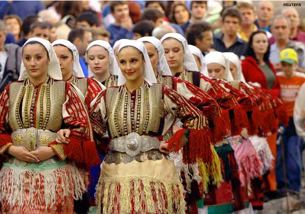 The population and the traditions of the roma people
