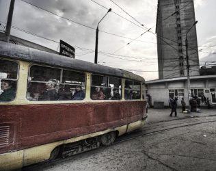 Russian streetcar