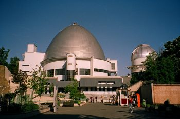 Newly reopened planetarium in Moscow