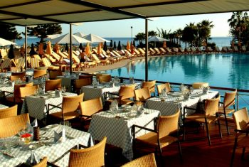 Le Fleuri Restaurant at Le Meridien Limassol Spa & Resort, Cyprus