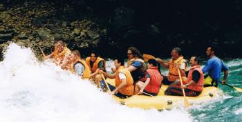 Tara rafting.