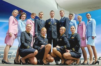 Your Transaero flight crew