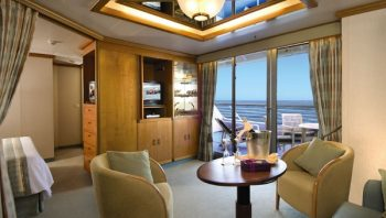 Stateroom aboard Adonia