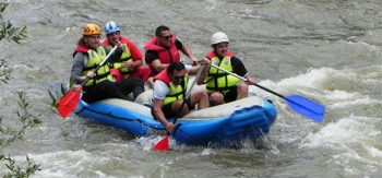 River Rafting on the Bistrita River.