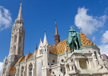 Matthias Church at Buda Castle in Budapest