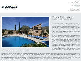 IAVRA branded villa pages