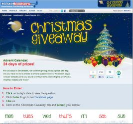 24 days of Christmas Prizes with HostelBookers