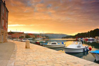 quay in Stari Grad, Hvar, Croatia.
