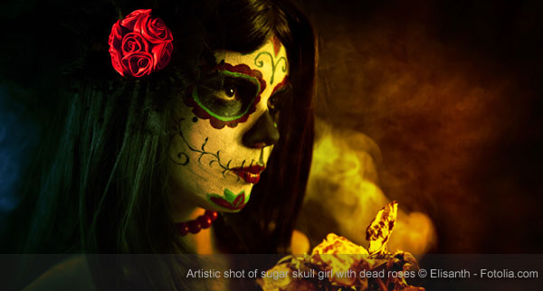 Mexican Death Face Painting
